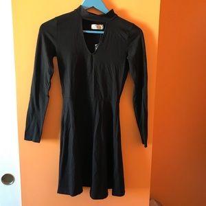 black hollister dress women's small!